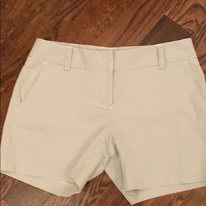 J Crew City Fit Stripe Shorts